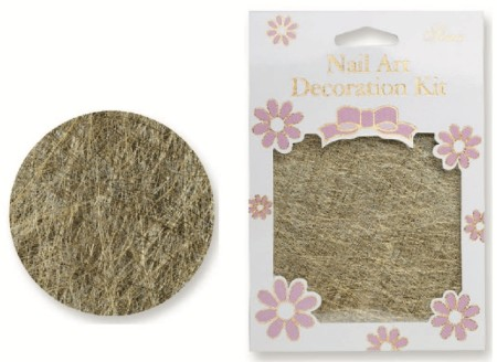 Nail Art Line Net - Gold - #7