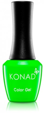 Konad Color Gel Nail Polish - CG070 Neon Green