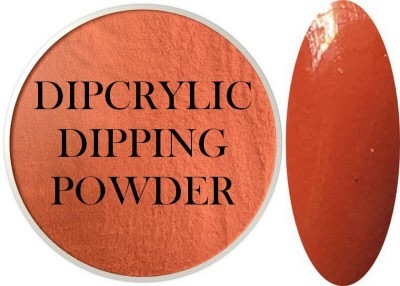 Dipcrylic Acrylic Dipping Powder - Retro Collection - Pumpkin