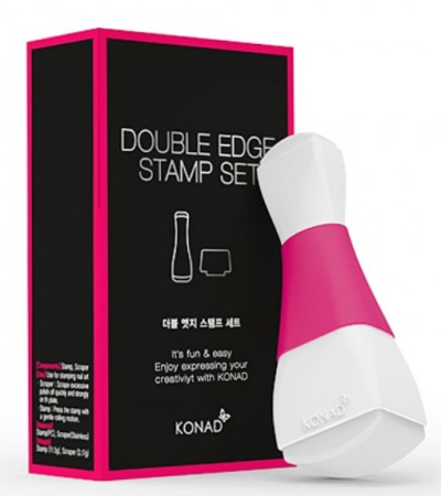 Konad Nail Art - Double Edge Stamp Set