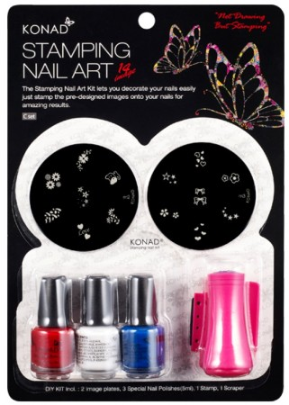 Konad Nail Art - Set C-A