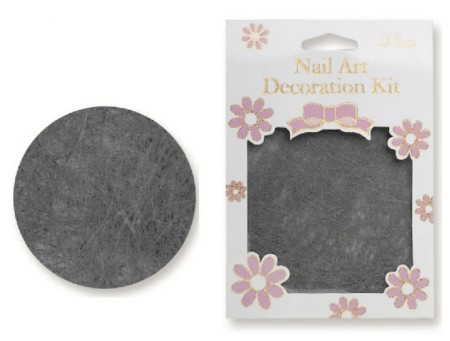 Nail Art Line Net - Grey - #5