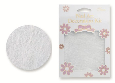 Nail Art Line Net - White - #4