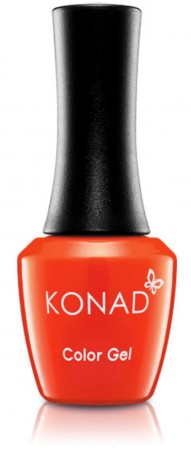 Konad Color Gel Nail Polish - CG012 Red Orange