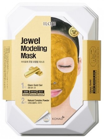 Iloje Jewel Modeling Mask - Glam Gold