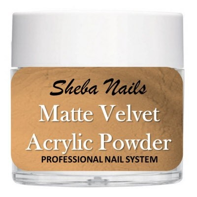 Matte Velvet Color Acrylic Powder - Taupe