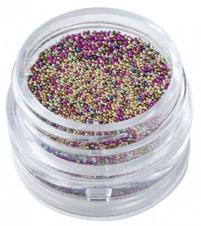 Nail Art Caviar Pearls #01 Mixed