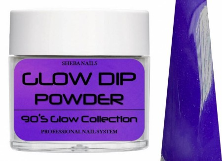 Dipcrylic Acrylic Dipping Powder - 90´s Flashback Glow Collection - Mary Janes