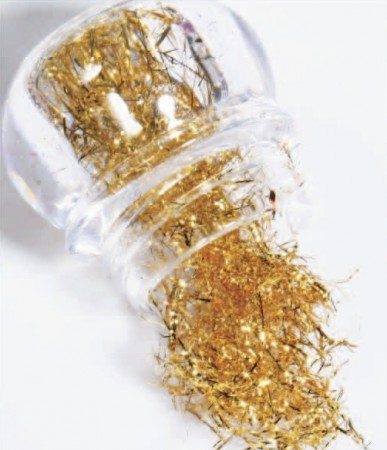 Nail Foil Wire - 01 Golden