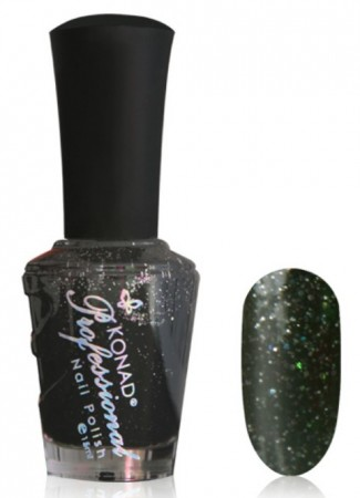 Konad Professional Nail Polish - P861 Diamond Black Pearl