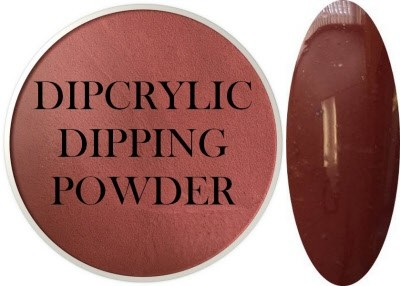 Dipcrylic Acrylic Dipping Powder - Retro Collection - Brick
