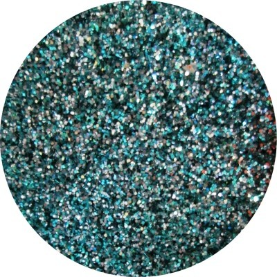 Techno Color Acrylic Powder - Glitter Turquoise Tonight