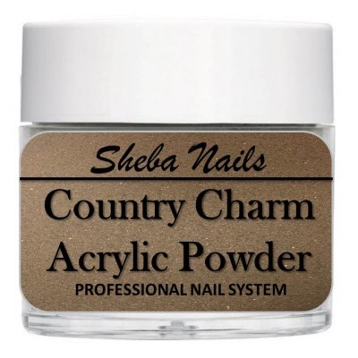 Country Charm Color Acrylic Powder - Log Cabin
