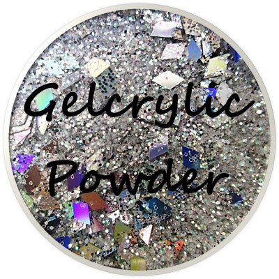 Gelcrylic Powder - Glitter Mix - Fairy Tale