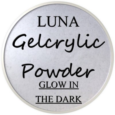 Gelcrylic Powder - Luna Glow In the Dark Collection - Nebula