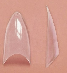 Stiletto Clear Tip - Pose med 20