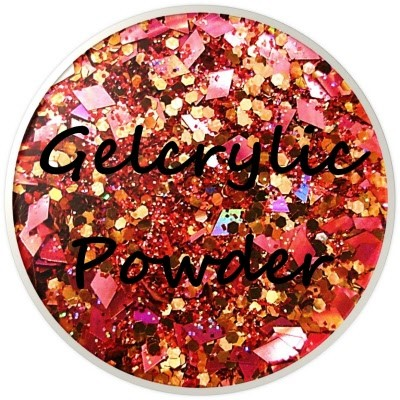 Gelcrylic Powder - Glitter Mix - Treasure Chest