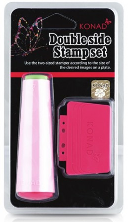 Konad Nail Art - Double Sided Stamp Set