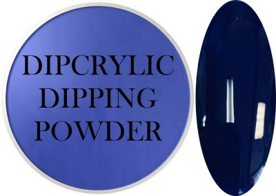 Dipcrylic Acrylic Dipping Powder - Art Collection - Deep Sea Blue