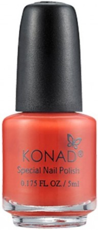 Konad Nail Art - Special Nail Polish - S11 Dark Orange