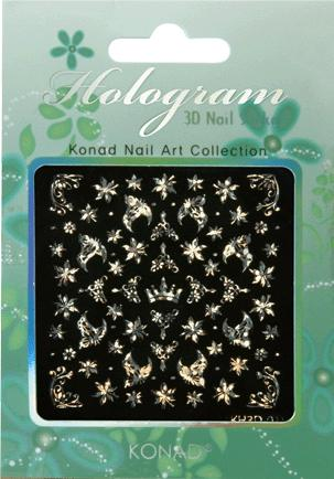 Konad Hologram 3D Sticker