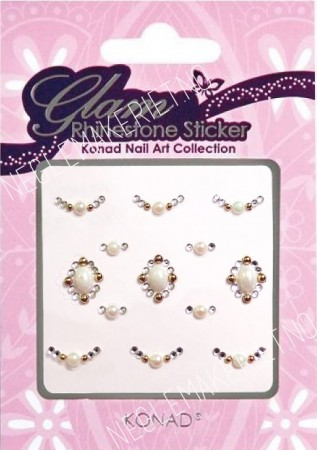 Konad Nail Art - Sticker - Glam Rhinestone Sticker - KNSS-08