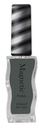 Konad Nail Art - Magnetic Polish - Grey - MGP004