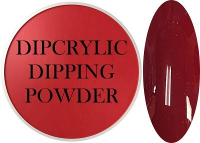 Dipcrylic Acrylic Dipping Powder - Art Collection - Sangria