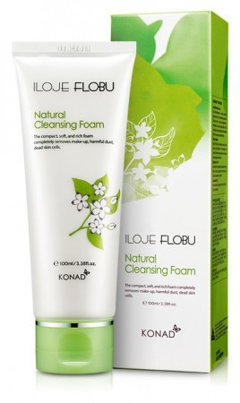 iloje Flobu Natural Cleansing Foam