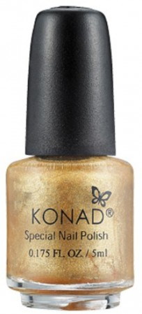 Konad Nail Art - Special Nail Polish - S52 Powdery Gold