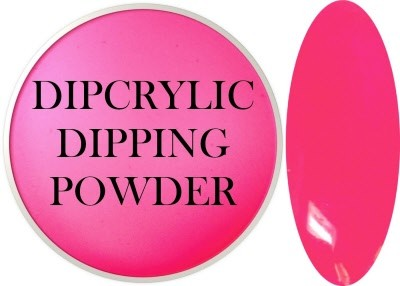 Dipcrylic Acrylic Dipping Powder - Neon Collection - Neon Pink