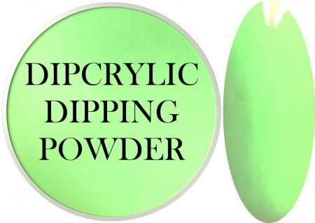 Dipcrylic Acrylic Dipping Powder - Unicorn Poop Collection - Pastel Neon Fancy