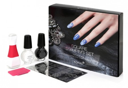 Konad Nail Art - Square Stamping Set