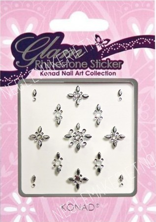 Konad Nail Art - Sticker - Glam Rhinestone Sticker - KNSS-10