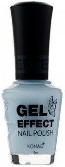 Konad Gel Effect Nail Polish - Baby Blue - GEP23