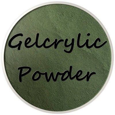 Gelcrylic Powder - Retro Chic Collection - Moss
