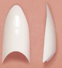Stiletto White Tip