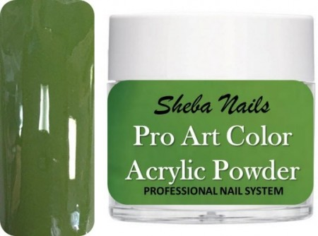 Pro Art Color Acrylic Powder - Leafy Green
