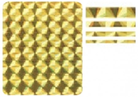 3D Holo Laser Strip Tape Nail Stickers STTP-6