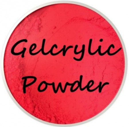 Gelcrylic Powder - Neon Red
