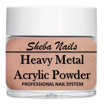 Heavy Metal Acrylic Powder - Rose Gold