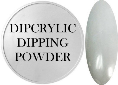 Dipcrylic Acrylic Dipping Powder - Shabby Chic Collection - Pewter