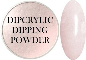 Dipcrylic Acrylic Dipping Powder - Glow in the Dark Collection - Luna Shimmer Pink