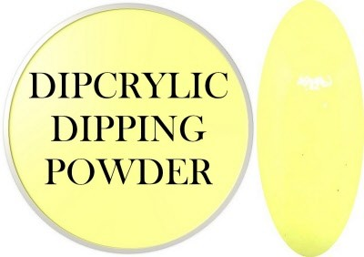 Dipcrylic Acrylic Dipping Powder - Baby Pastel Collection - Baby Yellow