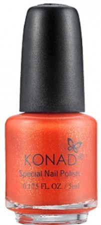 Konad Nail Art - Special Nail Polish - S39 Orange Pearl