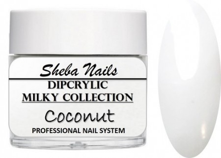 Dipcrylic Acrylic Dipping Powder - Milkies Collection - Coconut