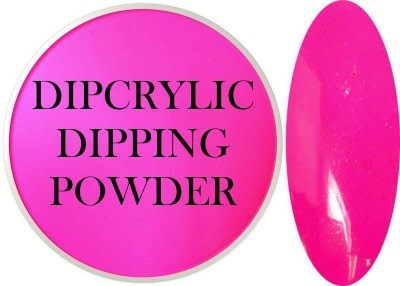 Dipcrylic Acrylic Dipping Powder - Neon Collection - Neon Magenta