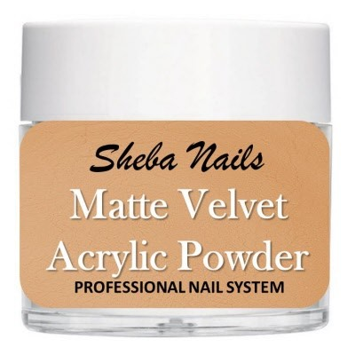 Matte Velvet Color Acrylic Powder - Hazel
