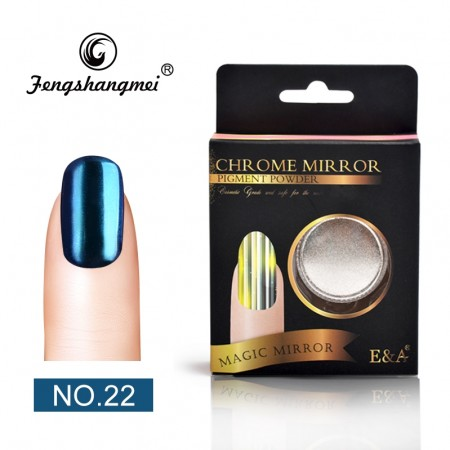 Magic Mirror Chrome Powder - #22 Chrome Shiny Dark Blue