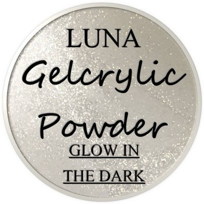 Gelcrylic Powder - Luna Glow In the Dark Collection - Galaxy